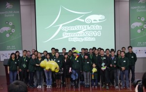 volunteers at openSUSE.Asia Summit 2014